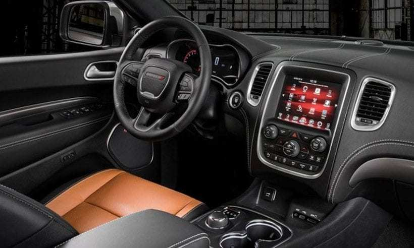 52 A 2020 Dodge Durango Interior New Model And Performance