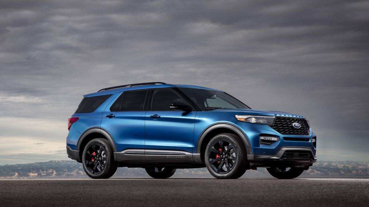 52 A 2020 Ford Explorer New Model And Performance