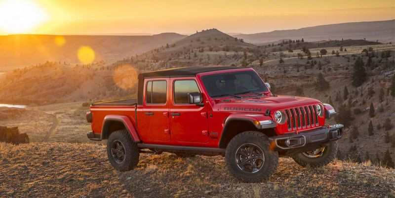 52 A 2020 Jeep Gladiator Build And Price Exterior