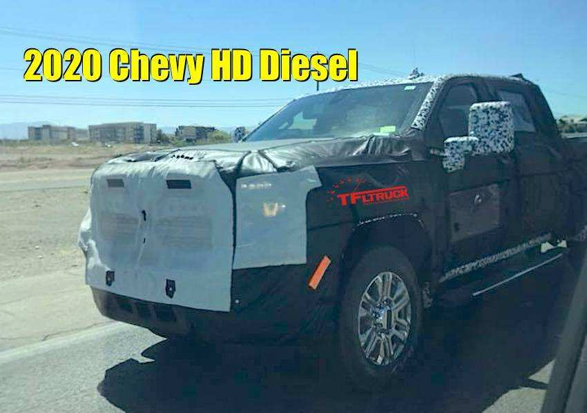 52 A 2020 Spy Silverado 1500 Diesel Engine