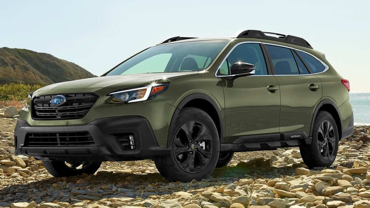 52 A 2020 Subaru Outback Turbo Hybrid Overview