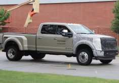 Spy Shots Ford F350 Diesel