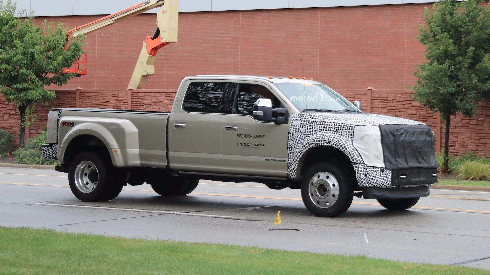 52 A Spy Shots Ford F350 Diesel Style