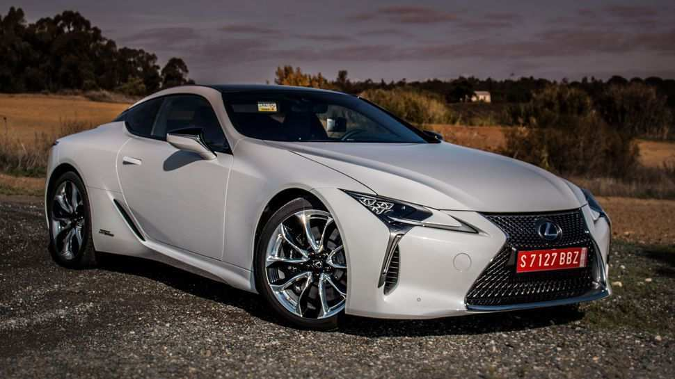 52 All New 2019 Lexus Lf Lc Overview
