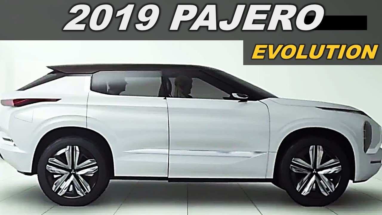 52 All New 2020 All Mitsubishi Pajero Engine