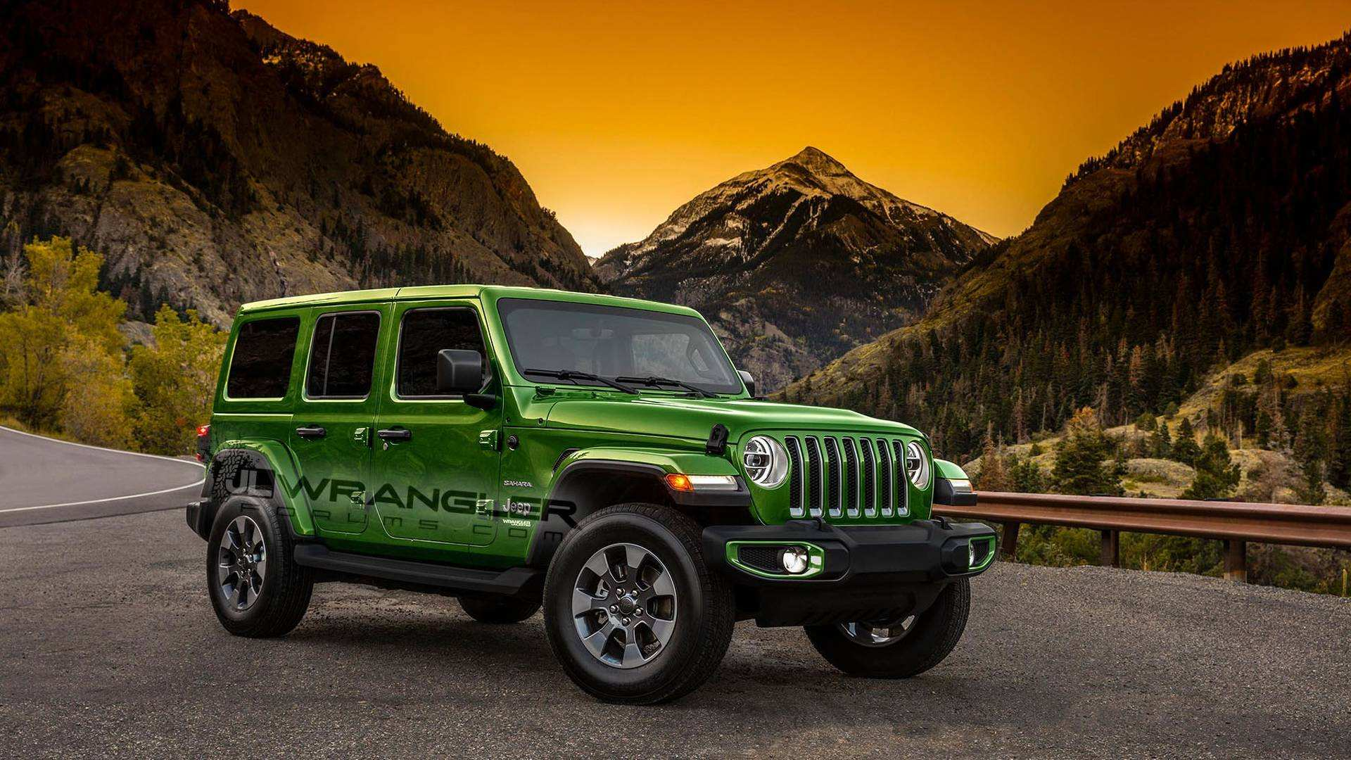 52 All New 2020 Jeep Wrangler Unlimited Rubicon Colors Review And Release Date