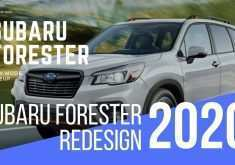 2020 Subaru Forester Redesign