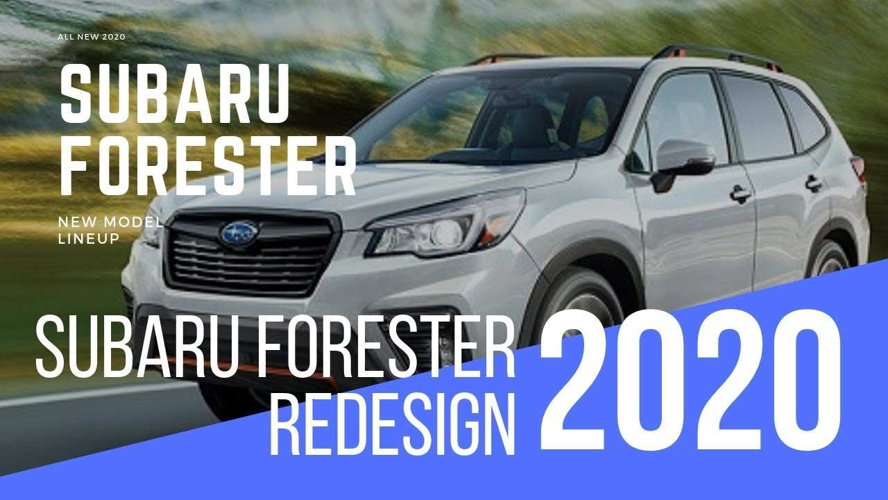 52 Best 2020 Subaru Forester Redesign Release