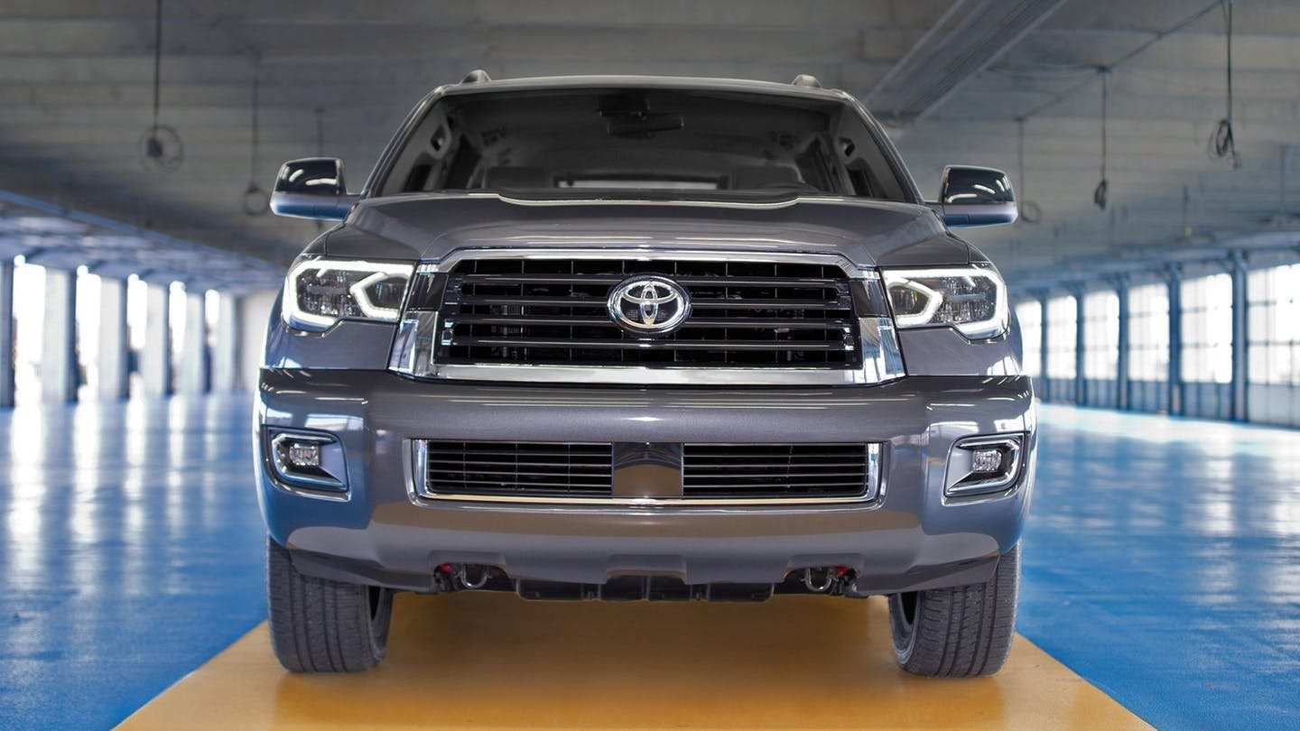 52 Best Toyota Sequoia 2019 Redesign Pictures