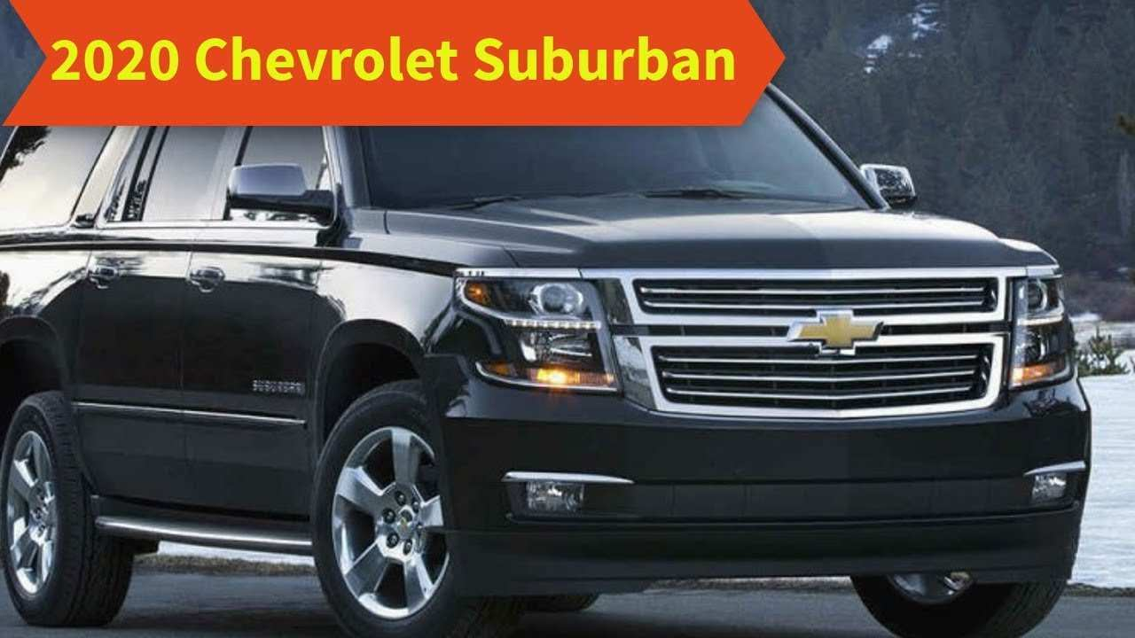 52 New 2020 Chevrolet Suburban Redesign