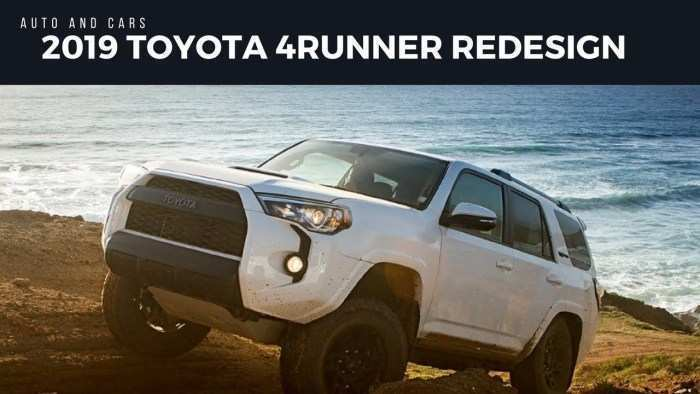 52 New Forerunner Toyota 2019 Configurations