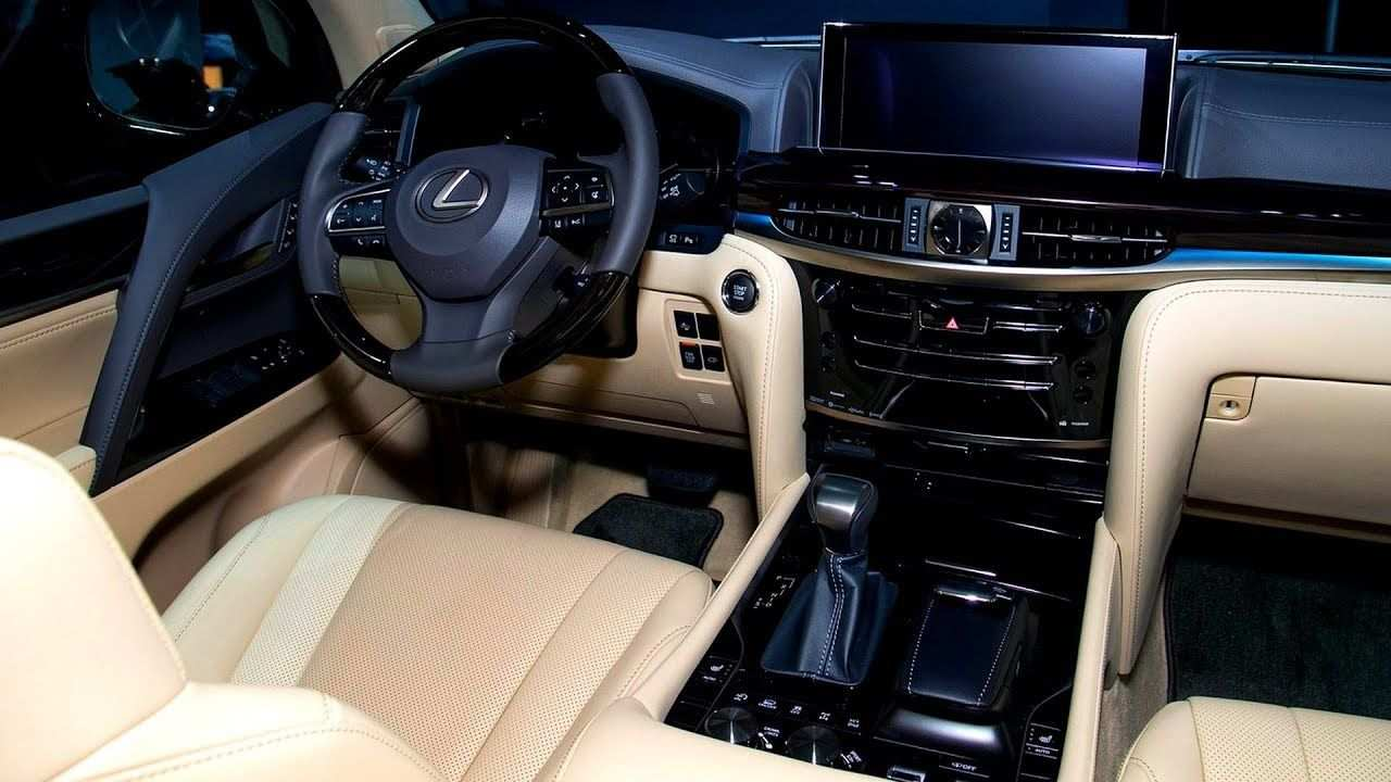 52 New Lexus Lx 2019 Interior Overview