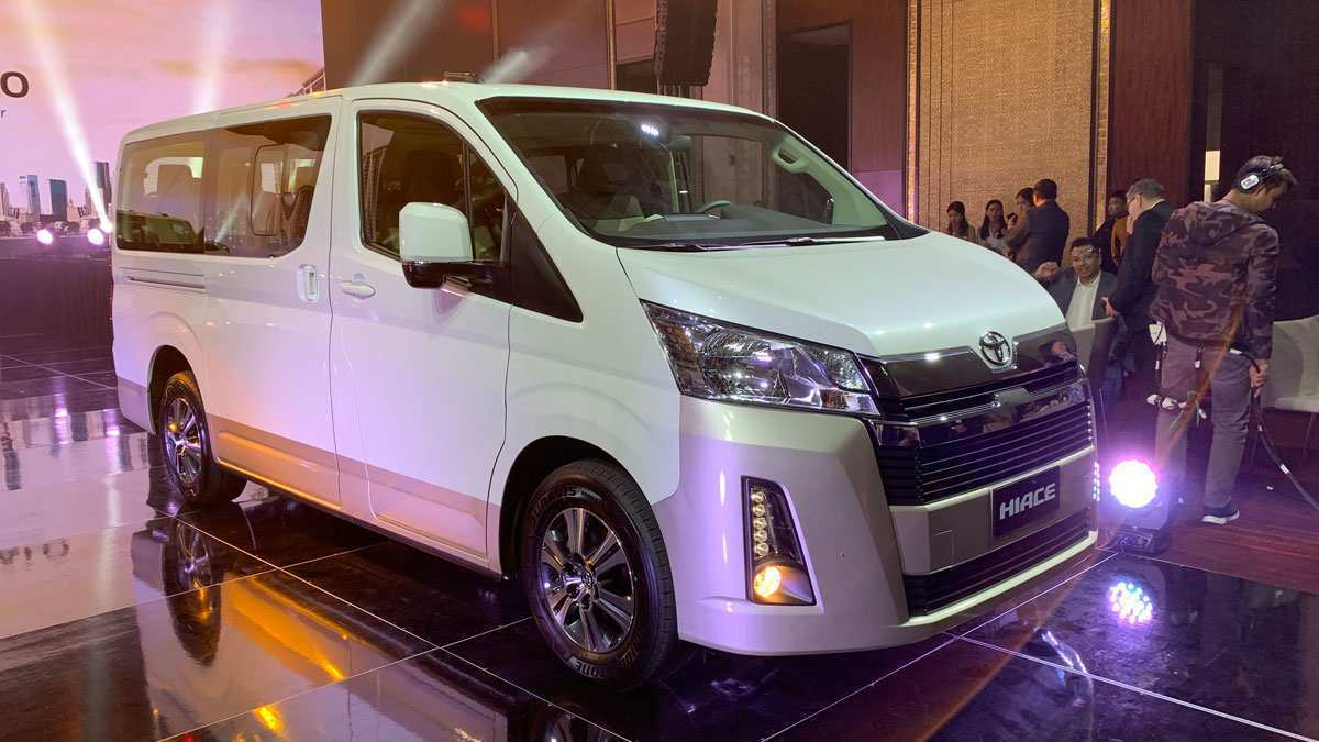 52 New Toyota Hiace 2019 First Drive