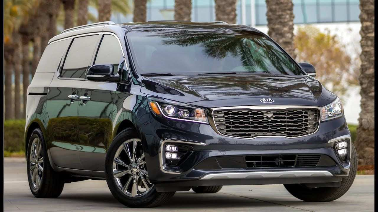 52 The 2019 Kia Sedona Brochure Spy Shoot