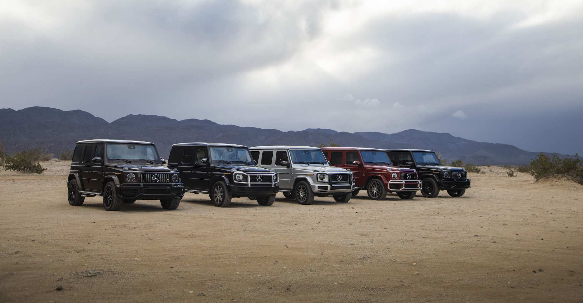 52 The 2019 Mercedes G Class Exterior