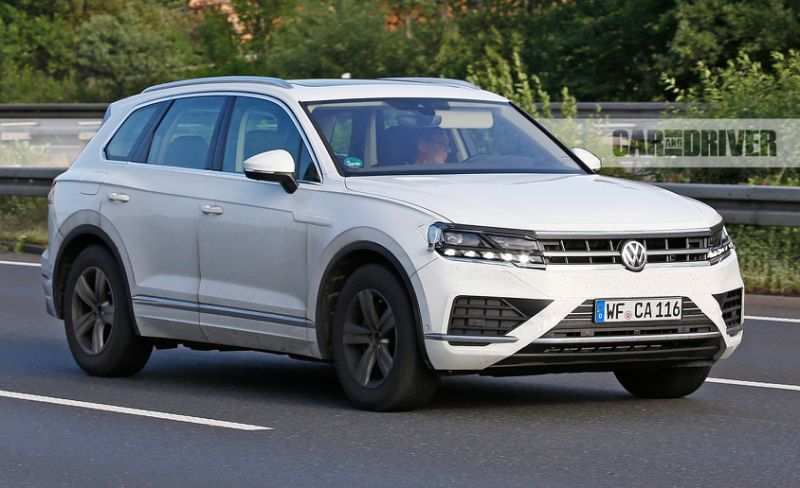 52 The 2019 Volkswagen Touareg Performance