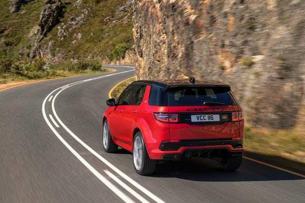52 The 2020 Land Rover Discovery Sport New Model And Performance