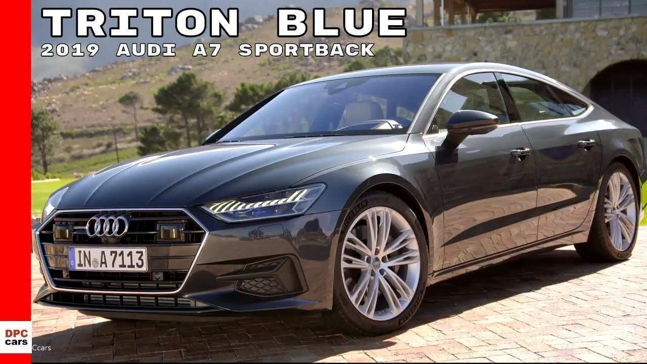 52 The Best 2019 Audi A7 Colors Rumors