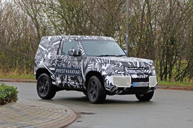 52 The Best 2019 Land Rover Defender New Concept