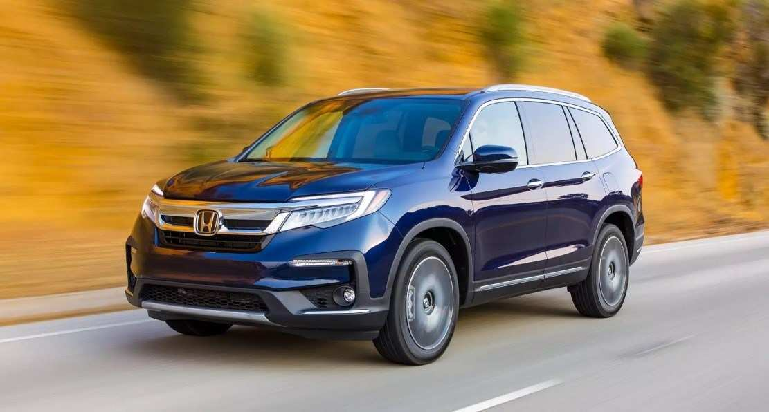 52 The Best 2020 Honda Pilot Spy Photos Engine