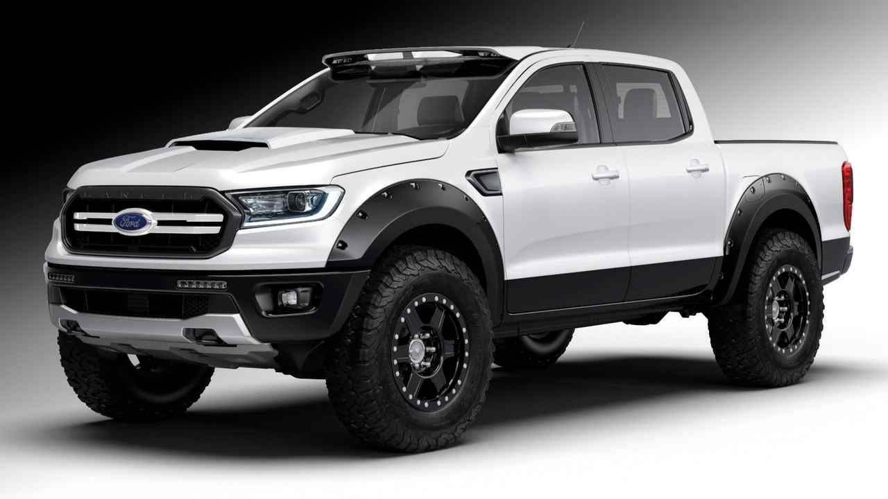 53 A 2019 Ford Ranger Usa Engine