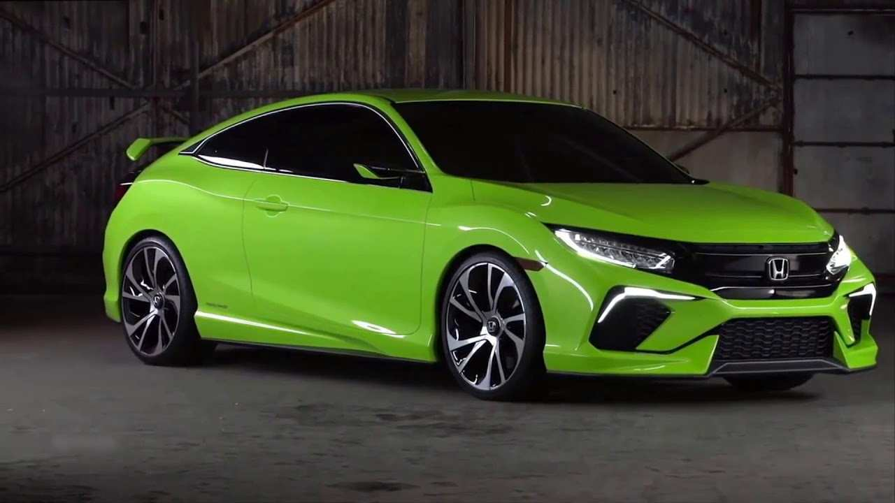 53 A 2020 Honda Civic Coupe Style