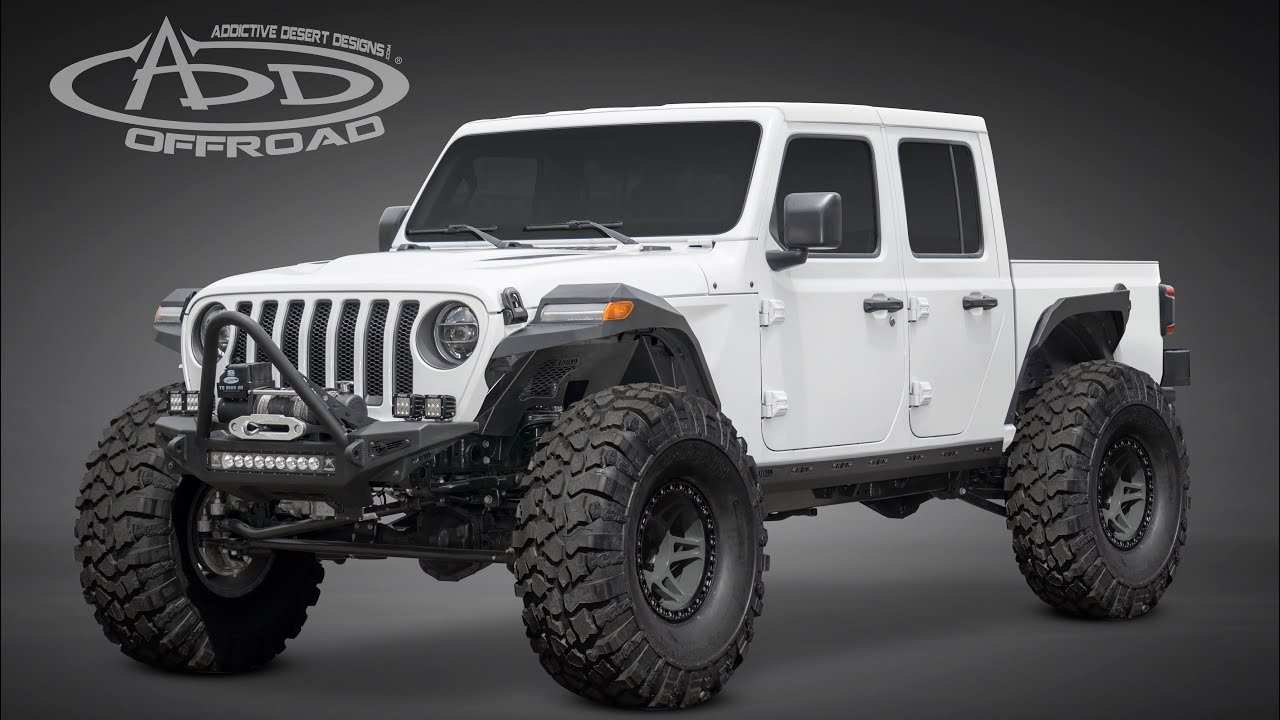 53 A 2020 Jeep Gladiator Hercules Model