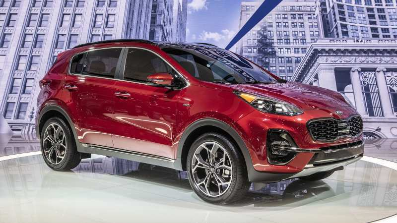 53 A Kia Sportage 2019 Vs 2020 Model