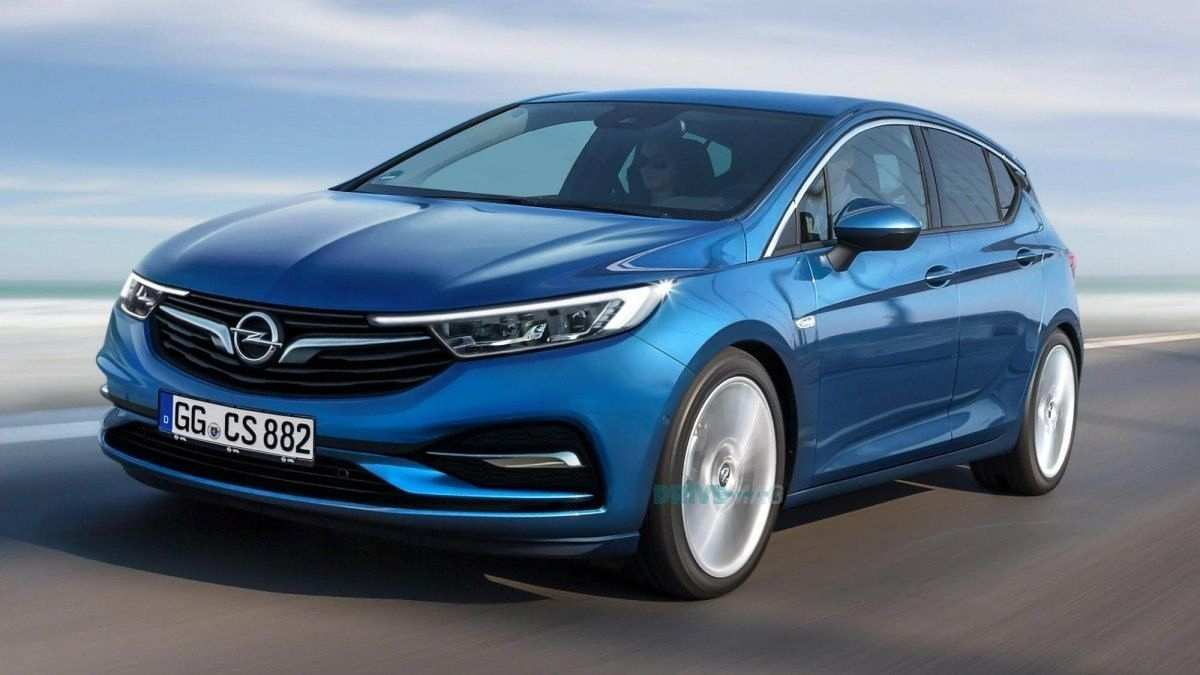 53 A Opel Astra Hatchback 2020 Style