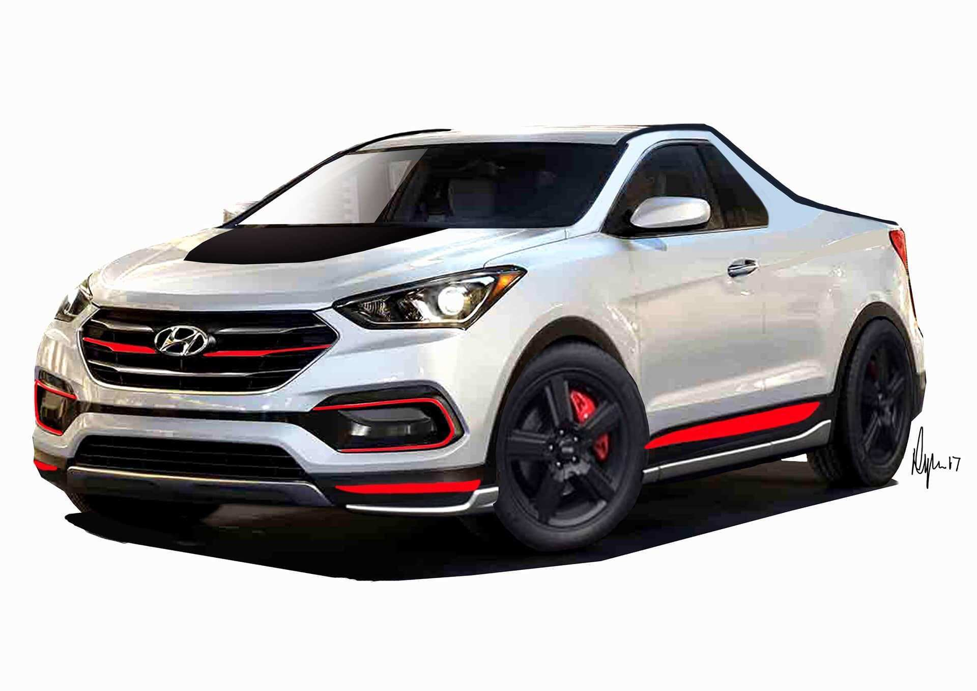 53 All New Hyundai Ute 2020 First Drive