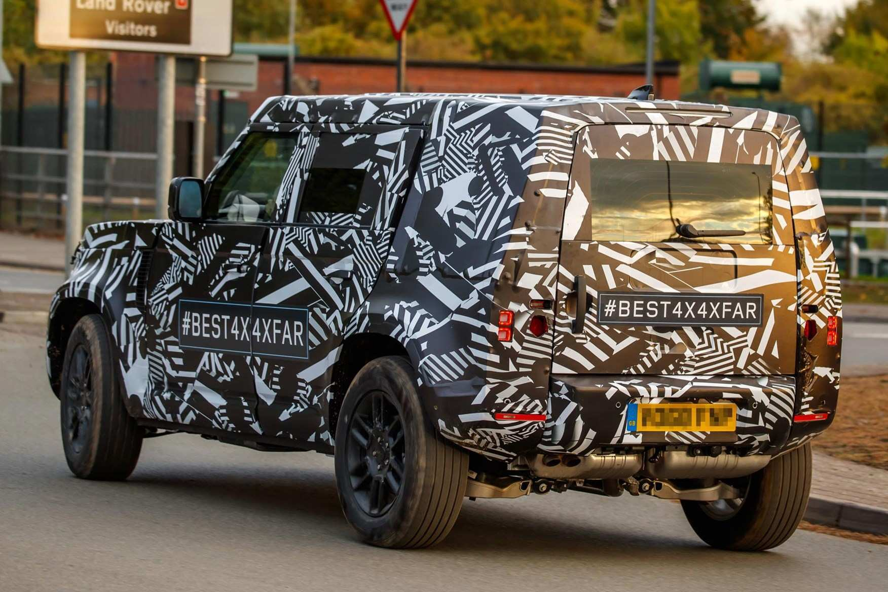 53 All New Jaguar Land Rover Defender 2020 Rumors