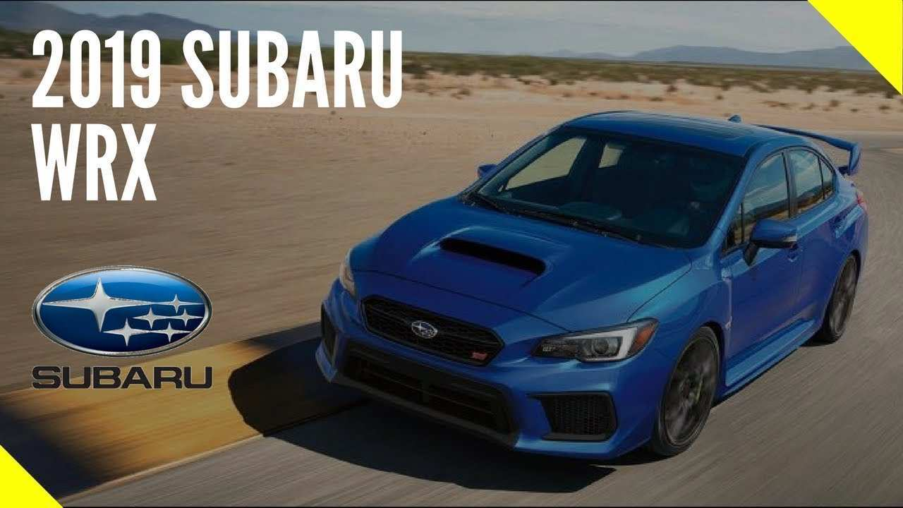 53 All New Subaru Wrx 2019 Release Date Rumors