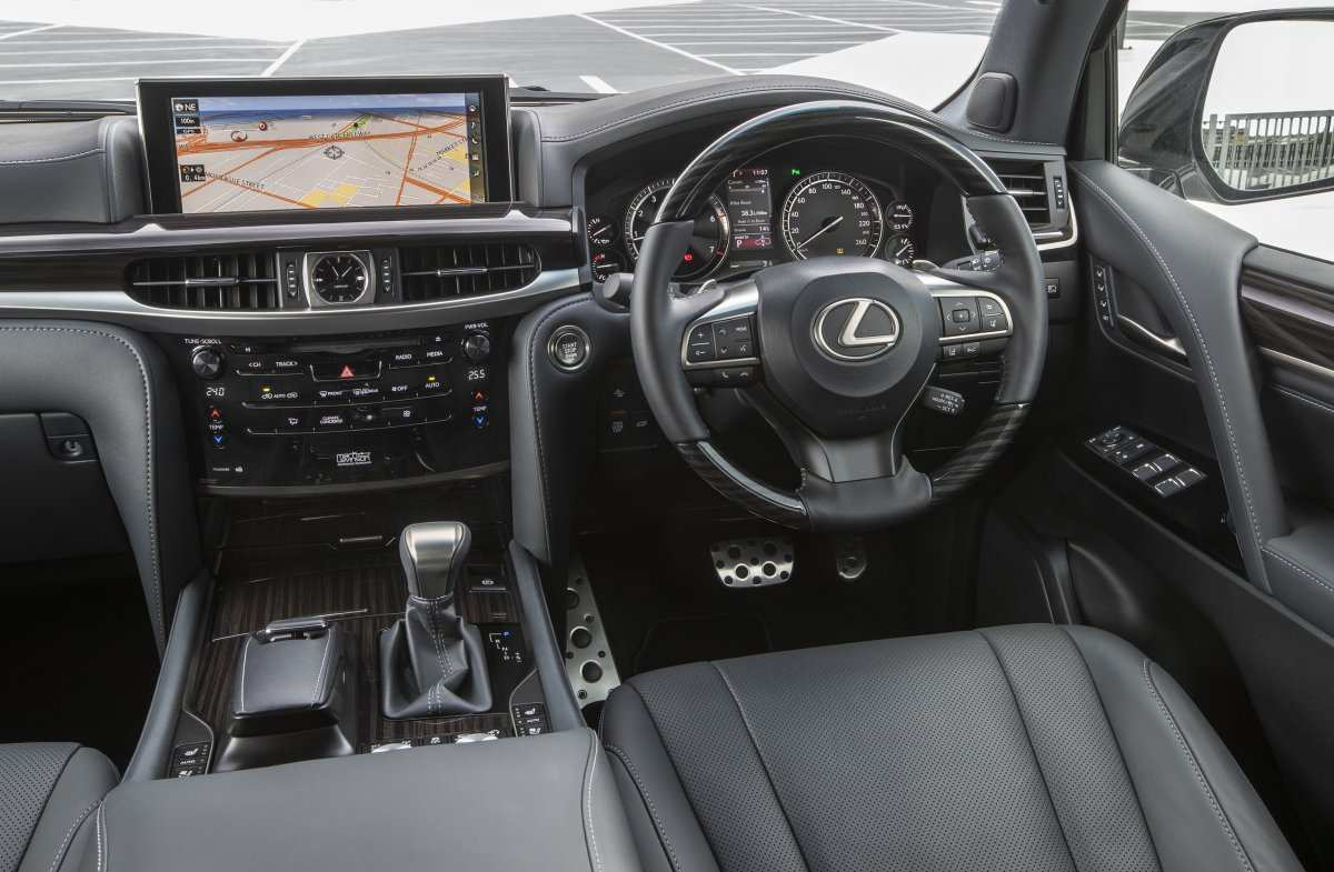 53 Best Lexus Lx 2019 Interior Redesign And Concept