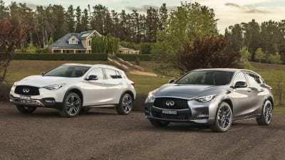 53 The 2019 Infiniti Q30 Spy Shoot
