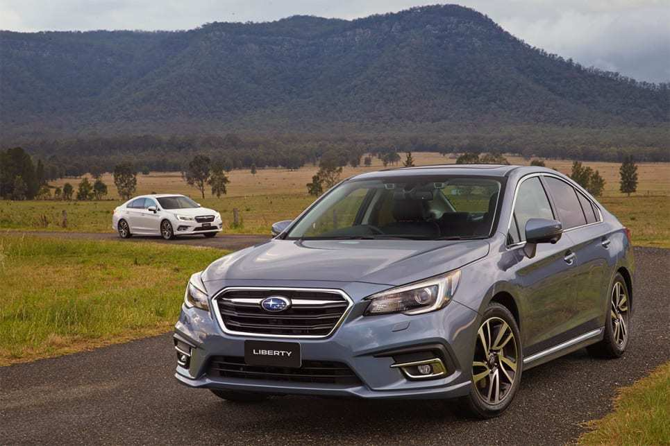53 The 2019 Subaru Liberty Overview