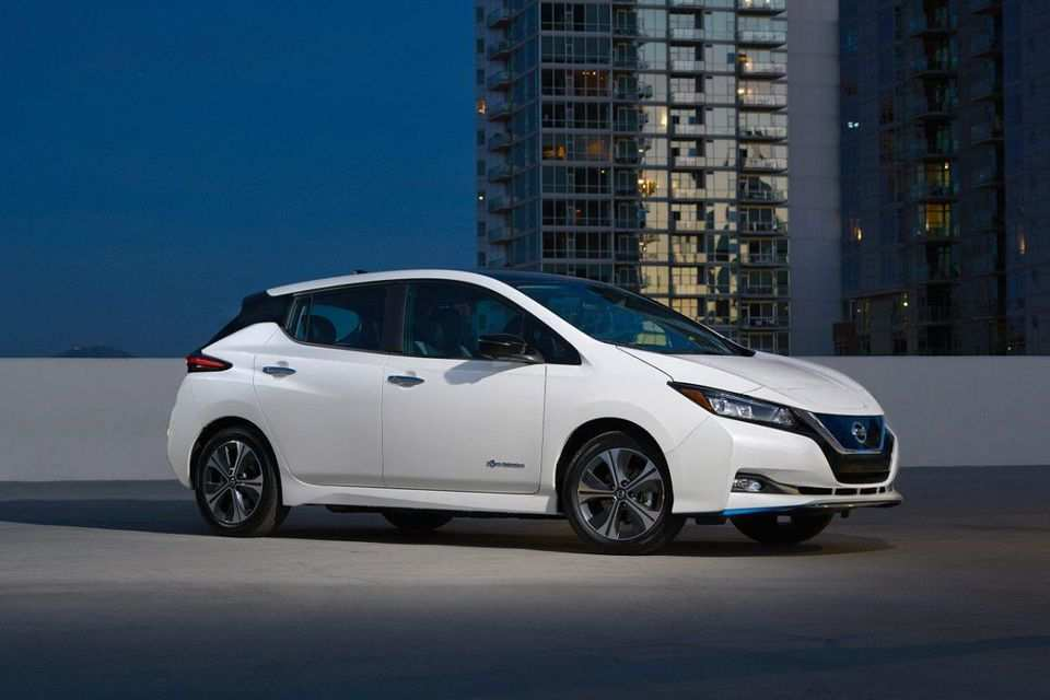 53 The 2020 Nissan Leaf Range Images