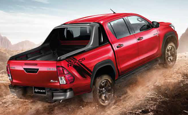 53 The 2020 Toyota Hilux Spy Shoot