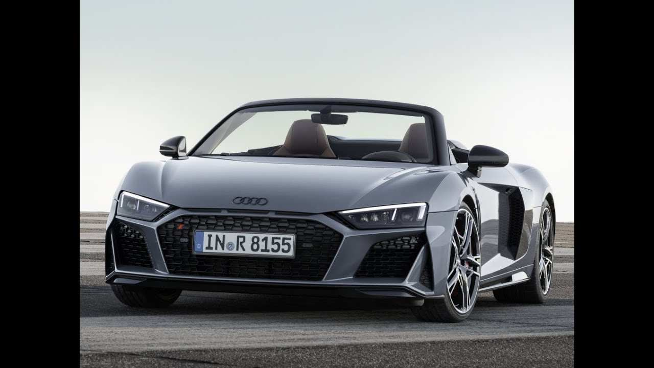 53 The Best 2019 Audi R8 V10 Spyder Redesign