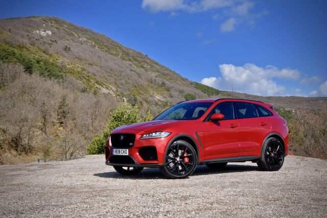 53 The Jaguar F Pace Svr 2020 Picture