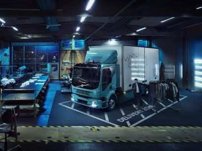 53 The Volvo Electric Truck 2019 Performance And New Engine