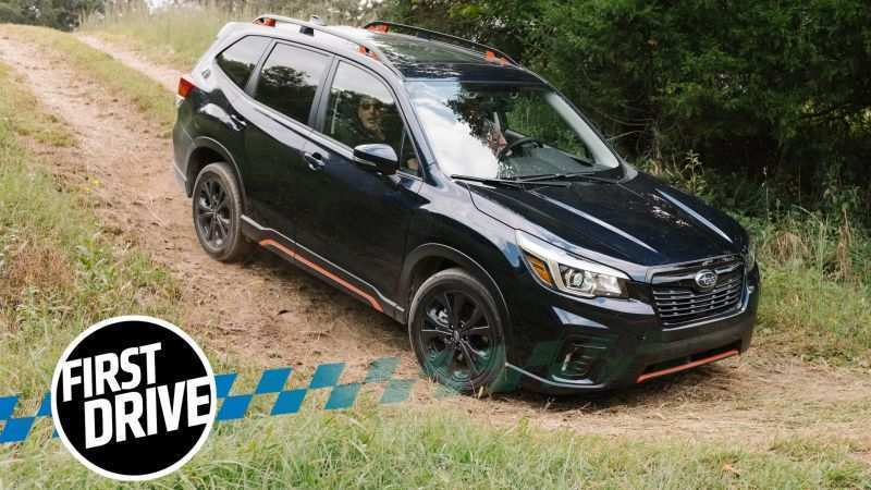 54 A 2019 Subaru Forester Sport Price And Release Date