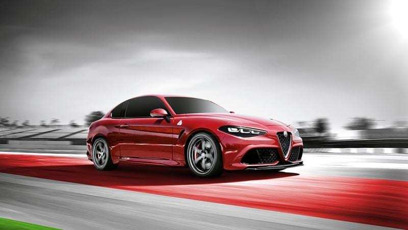 54 A 2020 Alfa Romeo Giulia Spy Shoot