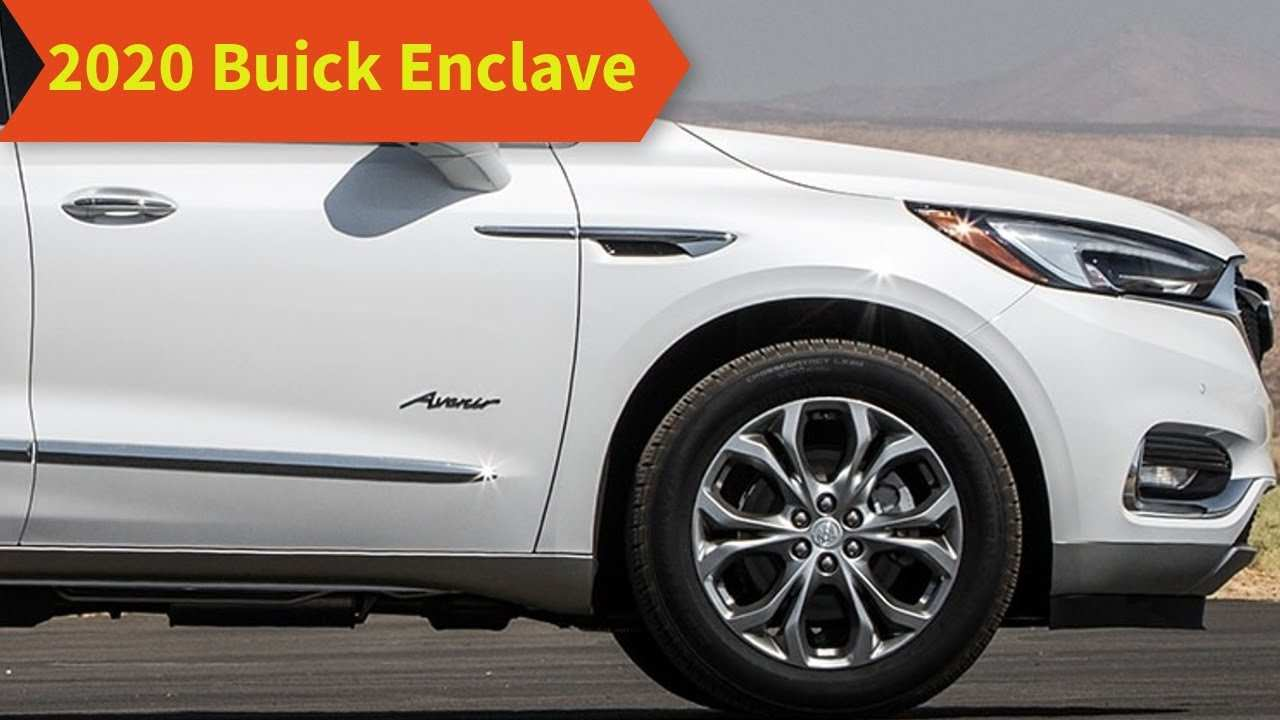 54 A 2020 Buick Enclave Specs Ratings