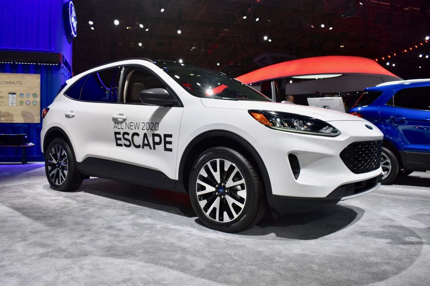 54 A Ford Hybrid Escape 2020 Photos