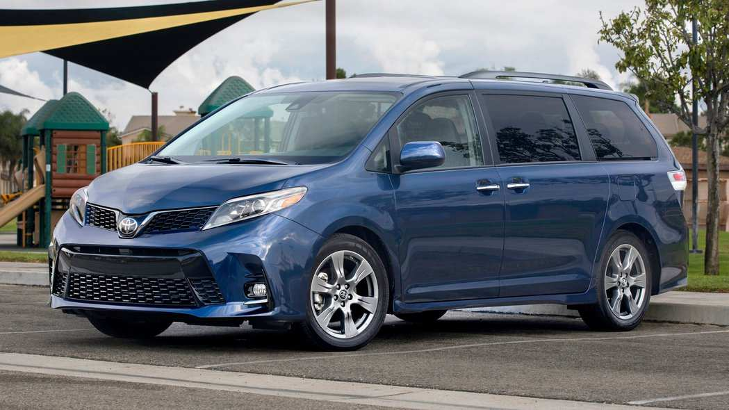 54 All New 2019 Toyota Sienna First Drive