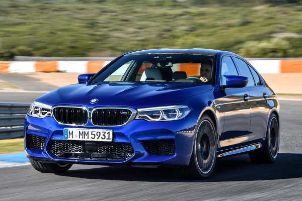 54 All New 2020 BMW M5 Get New Engine System Ratings