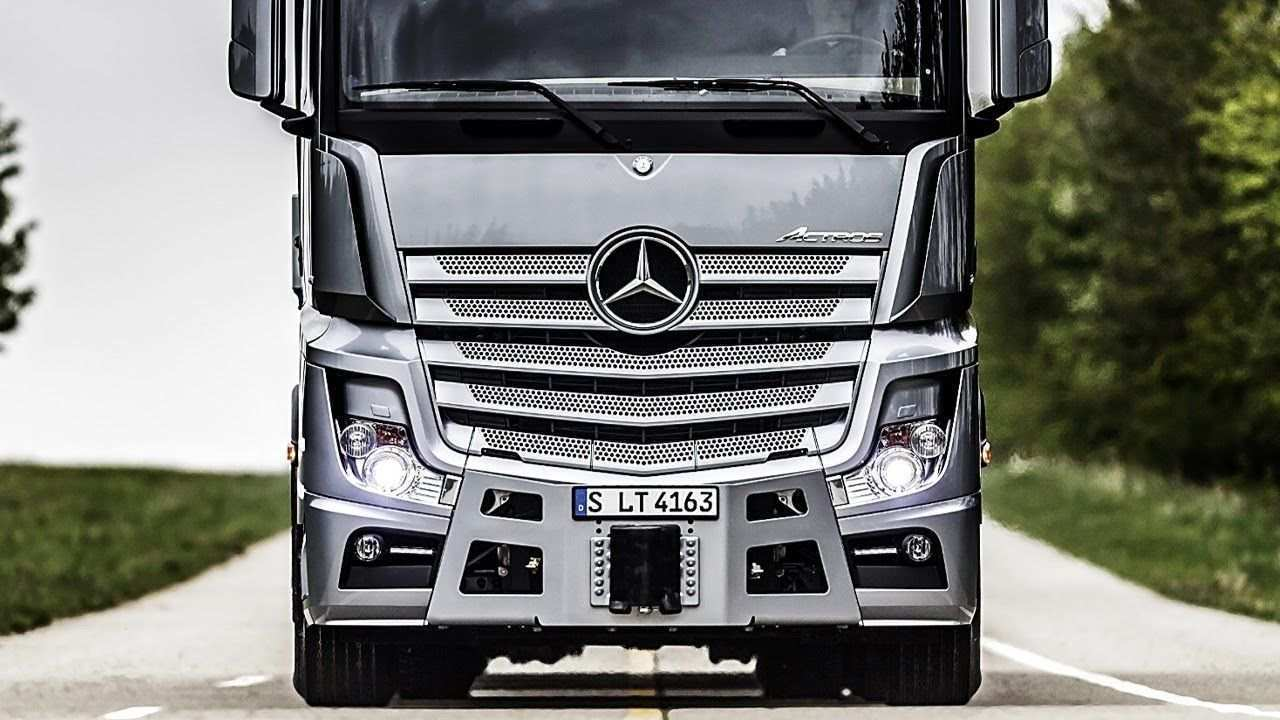 54 All New Mercedes Truck 2019 Specs And Review