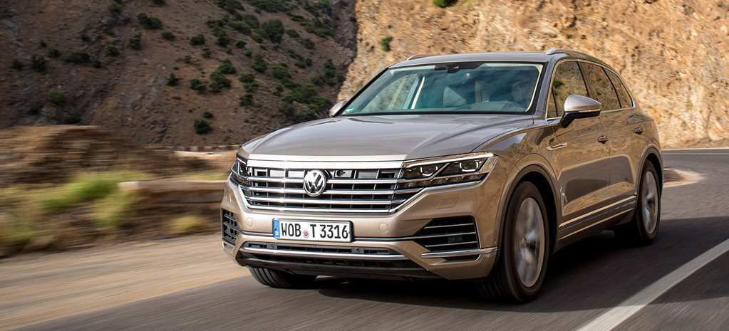 54 All New Touareg Vw 2019 Concept