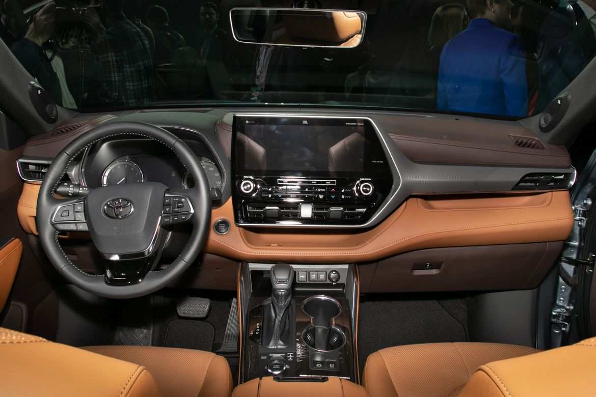 54 All New Toyota Highlander 2020 Interior Performance