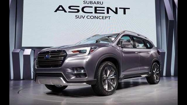 54 Best 2020 Subaru Ascent Release Date Spy Shoot